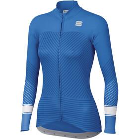 Sportful Flow Longsleeve Jersey Dames, parrot blu
